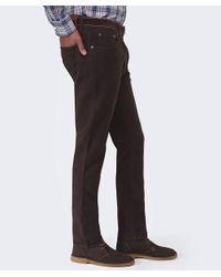 Hackett - Brown Moleskin Jeans for Men - Lyst
