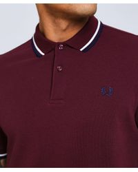 Fred Perry - Multicolor Twin Tipped M3600 Polo Shirt for Men - Lyst