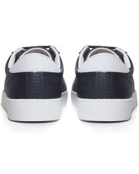 Fred Perry | Blue Spencer Perforated Trainers for Men | Lyst