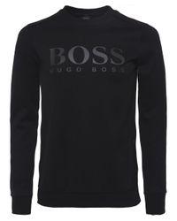 BOSS - Sweatshirt Black for Men - Lyst