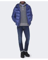 Colmar - Blue Down Puffa Jacket for Men - Lyst