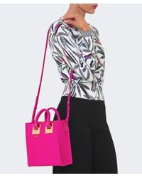 Sophie Hulme - Pink Albion Square Tote Bag - Lyst