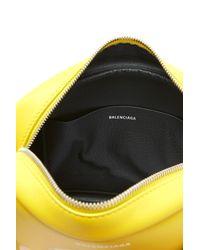 Balenciaga - Yellow 'everyday S' Crossbody Bag - Lyst