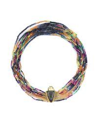Daniela Villegas - Blue Arcoiris Rainbow Necklace - Lyst