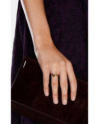 Karen Millen - Metallic Arrow Ring - Km - Lyst
