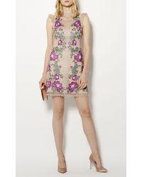 Karen Millen - Multicolor Satin Court Heels - Champagne - Lyst
