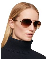 Kate Spade - Pink Avaline Sunglasses - Lyst