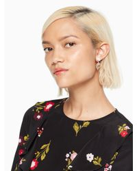 Kate Spade - Metallic Garden Party Drop Earrings - Lyst