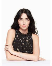 Kate Spade - Multicolor Glitz And Glam Open Hinged Cuff - Lyst