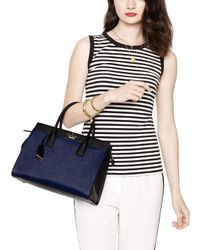 Kate Spade | Blue Cameron Street Candace Satchel | Lyst