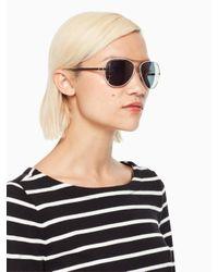 Kate Spade - Multicolor Avaline Sunglasses - Lyst
