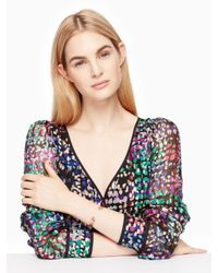 Kate Spade - Multicolor Forever Gems Cuff - Lyst