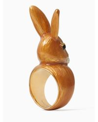 Kate Spade - Multicolor Bunny Ring - Lyst