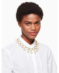Kate Spade | Multicolor Start A Movement Statement Necklace | Lyst