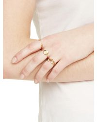 Kate Spade - Metallic Forever Mine Initial Ring - Lyst