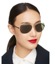 Kate Spade | Metallic Avaline Sunglasses | Lyst
