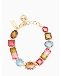 Kate Spade - Multicolor Light Things Up Bracelet - Lyst