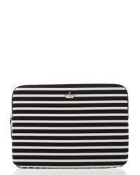 kate spade new york | Black Fairmont Stripe Laptop Zip Sleeve | Lyst
