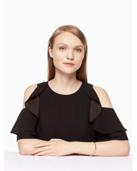 Kate Spade - Multicolor Heavy Metals Welliger Armreif - Lyst