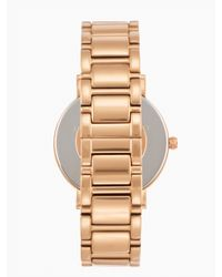 kate spade new york - Pink Gramercy Grand Watch - Lyst