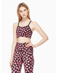 kate spade new york   Multicolor Cinched Bow Bra   Lyst