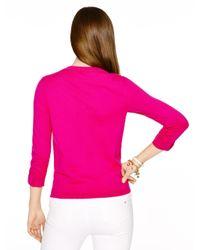 kate spade new york - Pink Somerset Cardigan - Lyst
