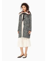 kate spade new york | Multicolor Tweed Arison Coat | Lyst
