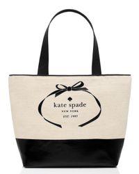 kate spade new york - Natural Heritage Spade Logo Summer - Lyst