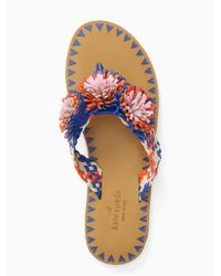 Kate Spade | Blue Idette Sandals | Lyst