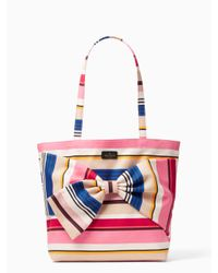 kate spade new york | Multicolor On Purpose Canvas Tote | Lyst