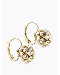 kate spade new york - Metallic Lady Marmalade Ball Earrings - Lyst