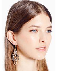 kate spade new york - Metallic Kahina Chandelier Earrings - Lyst