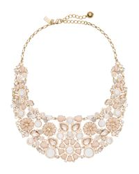 kate spade new york | Multicolor At First Blush Statement Necklace | Lyst