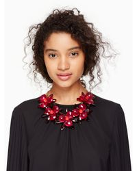 kate spade new york - Multicolor Blooming Brilliant Statement Necklace - Lyst