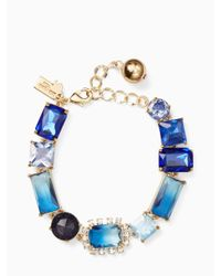 Kate Spade - Blue Color Crush Bracelet - Lyst