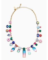 kate spade new york | Multicolor Color Crush Statement Necklace | Lyst