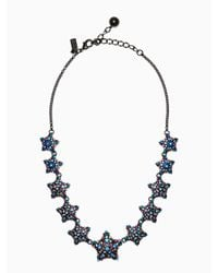 Kate Spade | Multicolor Bright Star Collar Necklace | Lyst