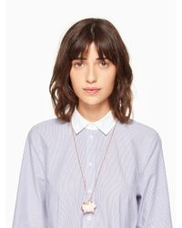 kate spade new york | Metallic Imagination Pig Locket | Lyst