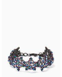 Kate Spade | Black Bright Star Bracelet | Lyst
