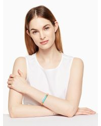 Kate Spade - Multicolor Building Blocks Bangle - Lyst