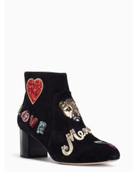Kate Spade - Black Liverpool Boots - Lyst