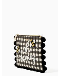 Kate Spade - Black On Purpose Embellished Oh Honey - Lyst