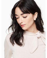 Kate Spade - Multicolor Disco Pansy Reversible Earrings - Lyst