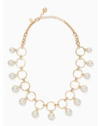 Kate Spade - Multicolor Start A Movement Statement Necklace - Lyst