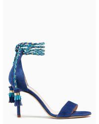 Kate Spade - Blue Inez Heels - Lyst
