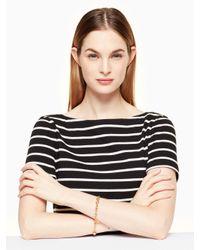 Kate Spade - Metallic Charm Link Bracelet - Lyst