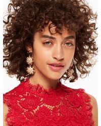 Kate Spade - Metallic Be Bold Triple Drop Earrings - Lyst