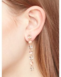 kate spade new york - Pink Kate Spade Earrings Linear Earrings - Lyst