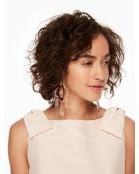 Kate Spade   Multicolor Lantern Gems Large Chandelier Earrings   Lyst