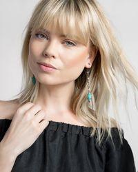 Kendra Scott - Lane Shoulder Duster Ear Jackets In Crackle Brown Pearl - Lyst